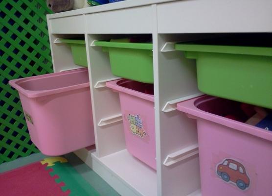 Cajones juguetes guarderiabababzamora